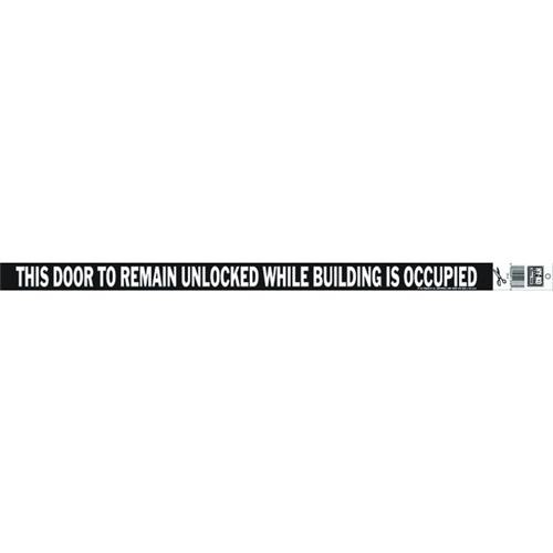 Hyko Prod. This Door To Remain Unlocked Sign