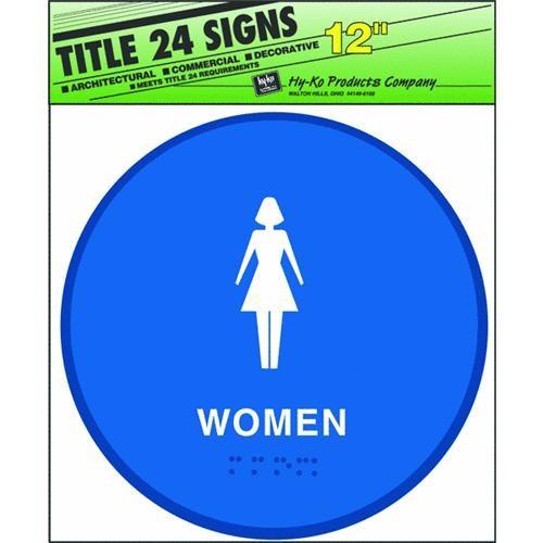 Hyko Prod. Blue Round Sign-Womens