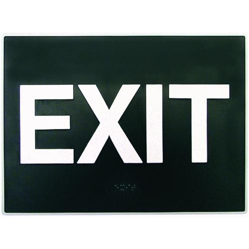 Hyko Prod. Braille Exit Sign
