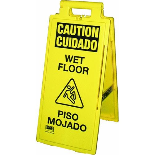 Impact Prod. English And Spanish Wet Floor Sign