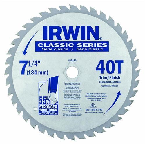 Irwin Irwin Classic Series Carbide Tipped Circular Saw Blade