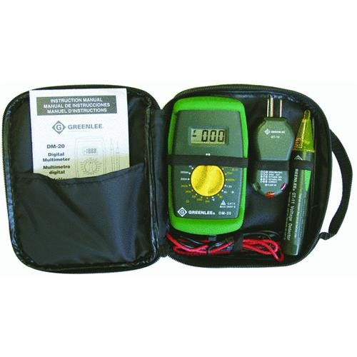 Greenlee Textron Multimeter Kit With Case