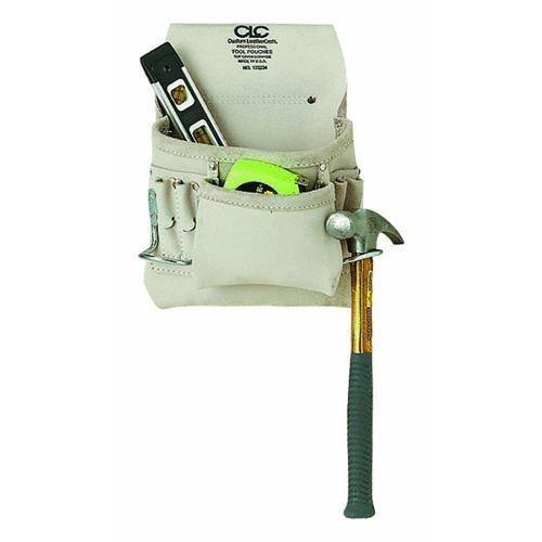 Custom Leathercraft 8-Pocket Nail And Tool Bag