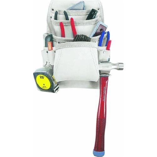 Custom Leathercraft 10-Pocket Nail And Tool Bag