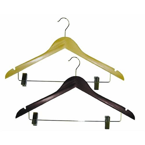 Homz/Seymour Homz Wood Suit Clothes Hanger With Clips