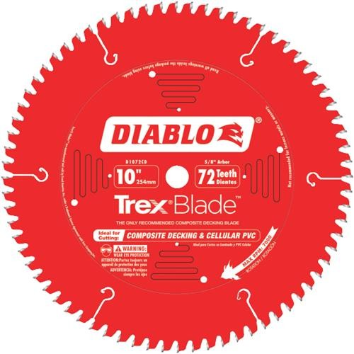Freud Inc Diablo/Trex Composite Table, Miter Saw Blade