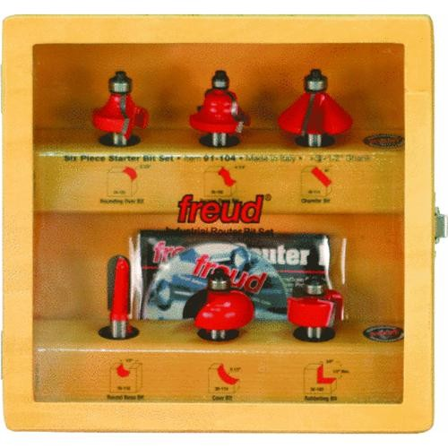 Freud Inc 6-Piece Router Bit Set
