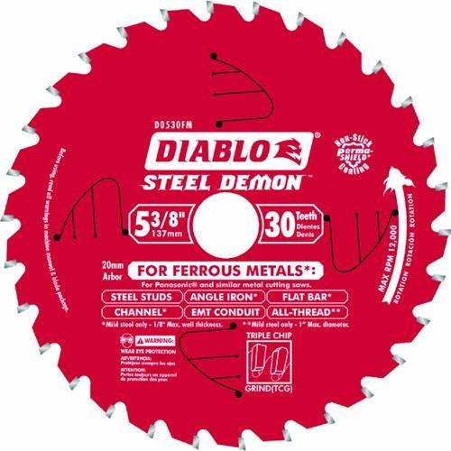 Freud Inc Diablo Steel Demon 5-3/8