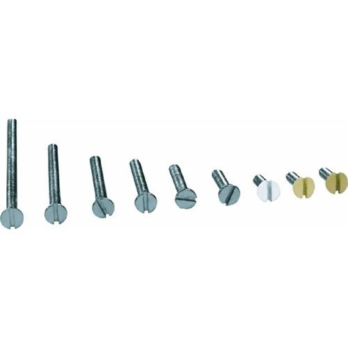 GB Electrical Flat Head Electrician's Screw Kit