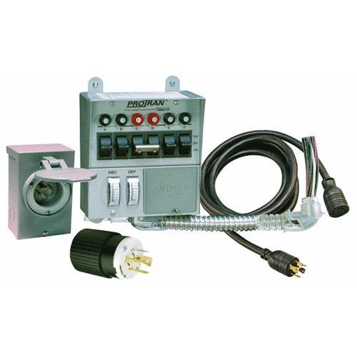 Generac Power Systems 7500W 6-Circuit Generator Transfer Switch