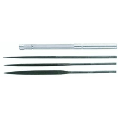 General Tools General Tools 4-Piece Swiss Pattern Needle File Set