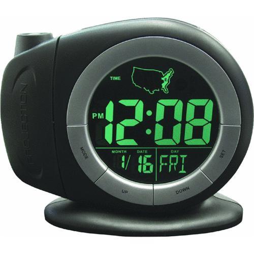 Geneva Clock Company Projection Time Ready Electric Alarm Clock