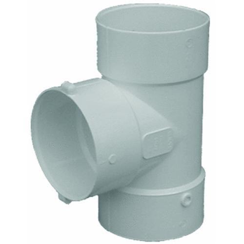 Genova PVC Sanitary Tee Bull Nose 4