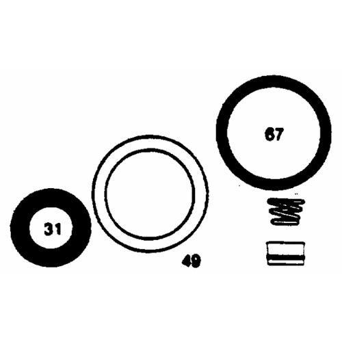 Danco Perfect Match Faucet Repair Kit For Delta /Delex 2-Handle Faucet