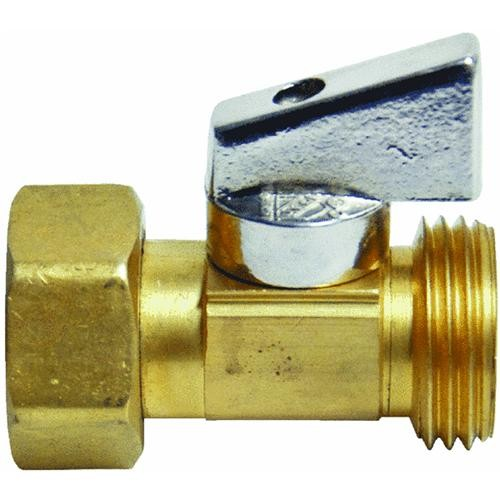 Danco Perfect Match Strait Stop Garden Hose Thread Ball Valve