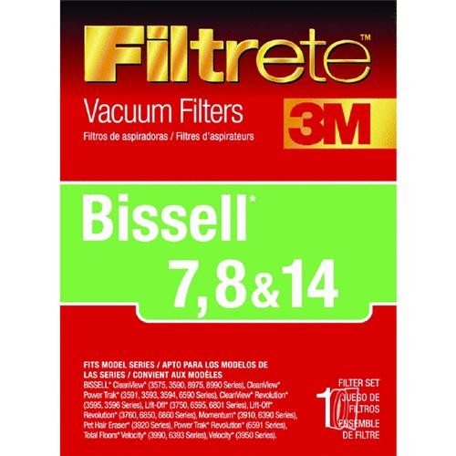 Electrolux Home Care 7, 8 & 14 Filtrete Bissell Vacuum Filter