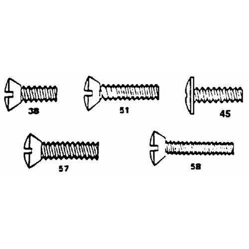 Danco Perfect Match Assorted Faucet Handle Screws