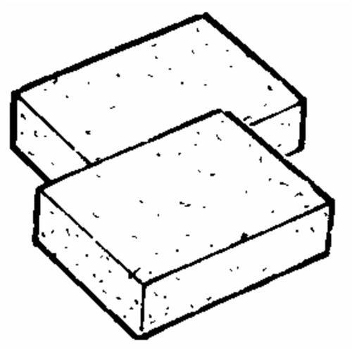 F H P-LP Suds And Sponge Refill