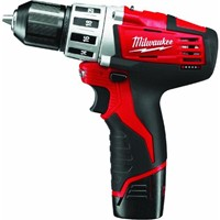Milwaukee Elec.Tool Milwaukee M12 Lithium-Ion Cordless Drill Kit