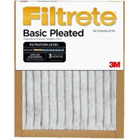 3M 3M Filtrete Basic Pleated Furnace Filter