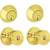 Schlage Lock Dexter Byron Entry And Deadbolt Twin Set