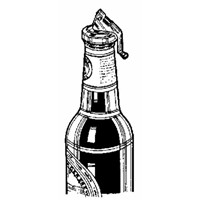 Norpro Bottle Stopper With Opener