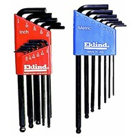 Eklind Ball-Hex-L Metric/SAE Key Wrench Set