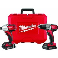 Milwaukee Elec.Tool Milwaukee M18 Lithium-Ion Drill and Impact Cordless Tool Combo Kit