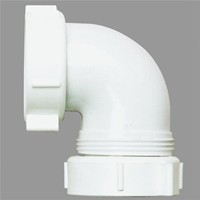 Plumb Pak/Keeney Mfg. Do it Plastic Threaded Outlet Elbow