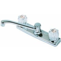 Globe Union Home Impressions Double Acrylic Handle Kitchen Faucet Without Sprayer
