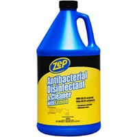 Enforcer Zep Zep Commercial 128 Oz. Antibacterial Disinfectant And All-Purpose Cleaner
