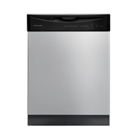 "Frigidaire 24"" BUILT IN DISHWASHER Energy Star, 4 Cycle, Electric Control, FFBD2408NS, Stainless Steel"