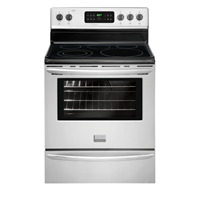 "Frigidaire Gallery 30"" Freestanding Gas Range, Keep Warm Zone, Self Clean, 5.4 C/F Oven, FGEF3030PF, Stainless Steel"