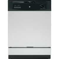"General Electric 24"" Built In Dishwasher Standard Tub Design, 5 Cycles, Energy Star, GSD3360KSS, Stainless Steel"