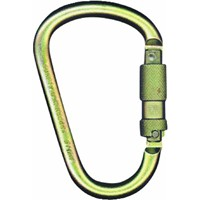 "Fall Tech Steel Carabiner with 1"" Gate Opening"
