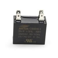 AllTek Mini-Split Run Capacitor 3.0 MFD X 450VAC