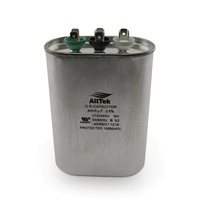AllTek Oval Run Capacitor  80 + 5  MFD x 370/440V