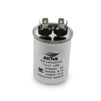 AllTek Round Run Capacitor  7.5 MFD x 370/440V