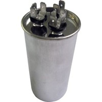 Motors and Armatures Round  Dual Section Capacitor 45/5 MFD x370V