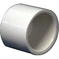 """PVC Schedule 40 Fittings PVC Cap, 3/4"""" Sch 40 (SOC)"""