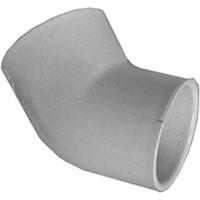 "PVC Schedule 40 Fittings PVC Elbow, 3/4"" 45deg Sch 40 (SOC)"