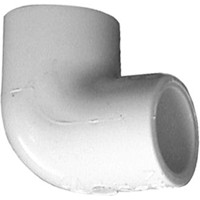 "PVC Schedule 40 Fittings PVC Elbow, 3/4"" 90deg Sch 40 (SOC)"