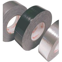 """Fasson-Avery Tape, 2"""" x 60yd Black Cloth Duct 950"""