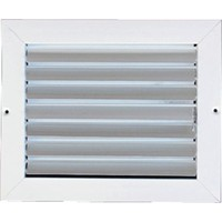 Metallum Enterprises 1-Way Ceiling Grille - Multi Louver