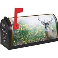 Flambeau Prod. Flambeau T2 Deer Decorative Post Mount Mailbox