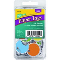 Lucky Line Paper Key Tag