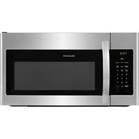 Frigidaire Microwave 1.6 C/F, Over-The-Range Stainless Handle, FFMV1645TS, Stainless Steel