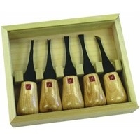 Flexcut Tool Co. 5-Piece Beginners Palm Carve Set