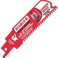 Freud Inc Diablo Steel Demon Carbide Metal Reciprocating Saw Blade