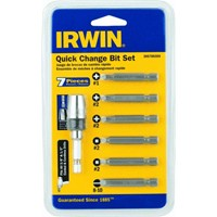 Irwin Irwin 7-Piece Power Screwdriver Bit Set